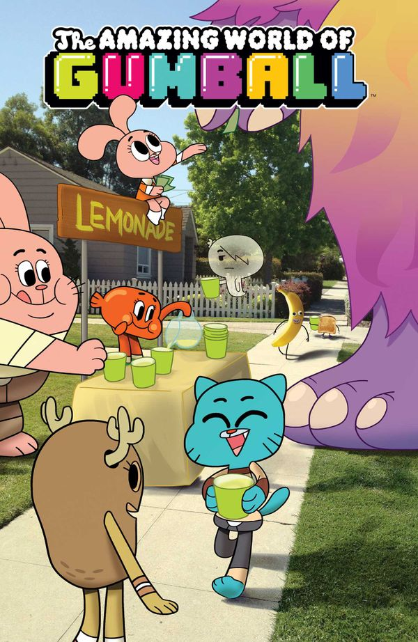 [Cover Art image for Amazing World Of Gumball Vol. 2]