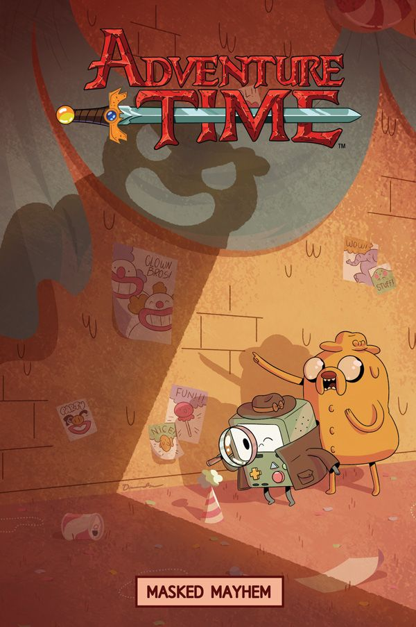 [Cover Art image for Adventure Time: Masked Mayhem]