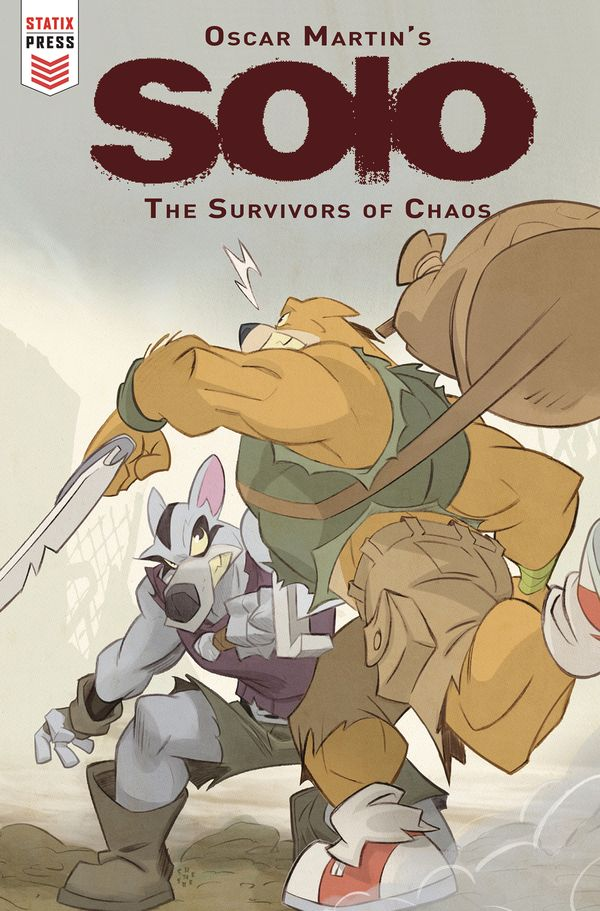 [Cover Art image for Oscar Martin's Solo: The Survivors Of Chaos]