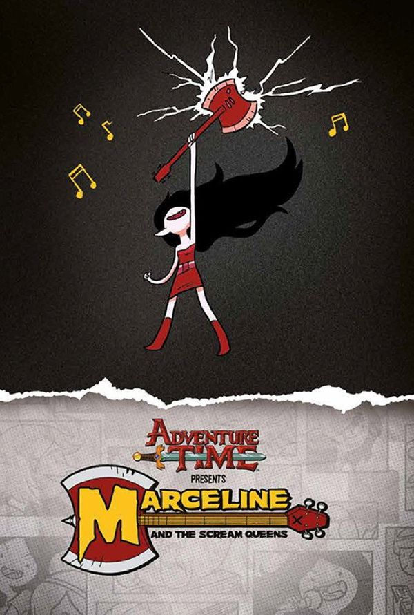 [Cover Art image for Adventure Time: Marceline & the Scream Queens Mathematical Edition]