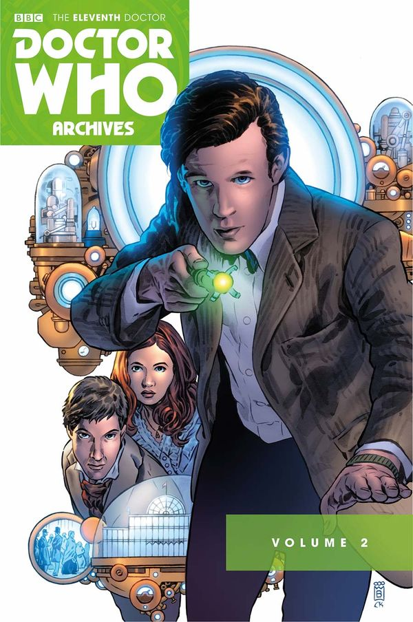 [Cover Art image for Doctor Who Archives: The Eleventh Doctor Vol. 2]