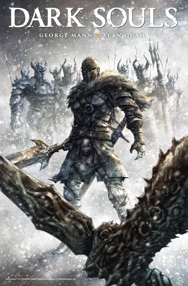 [Cover Art image for Dark Souls: Winter's Spite]
