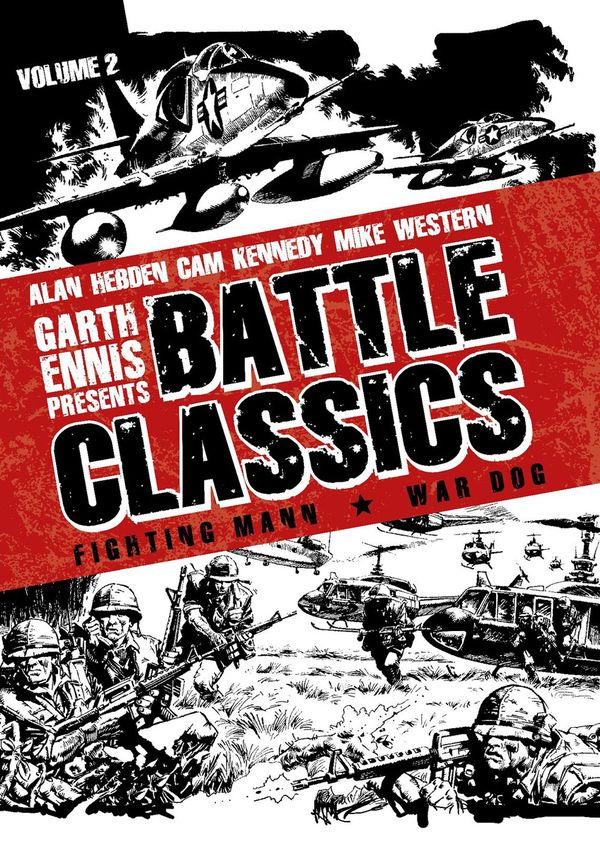 [Cover Art image for Garth Ennis Presents Battle Classics]