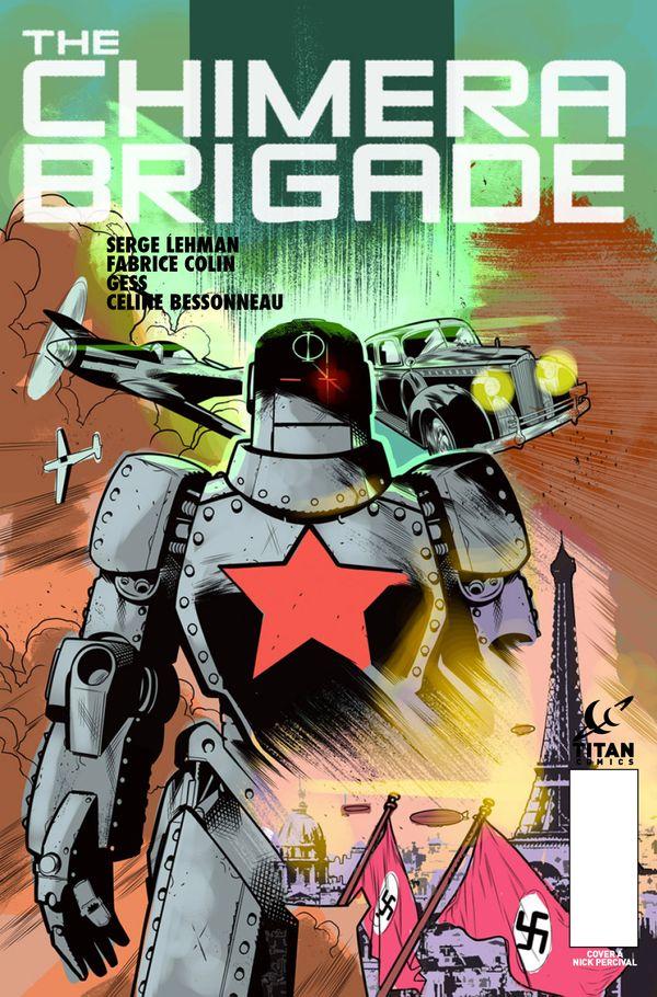 [Cover Art image for Chimera Brigade]