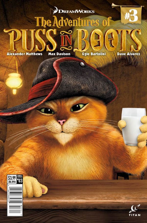 [Cover Art image for Puss in Boots]