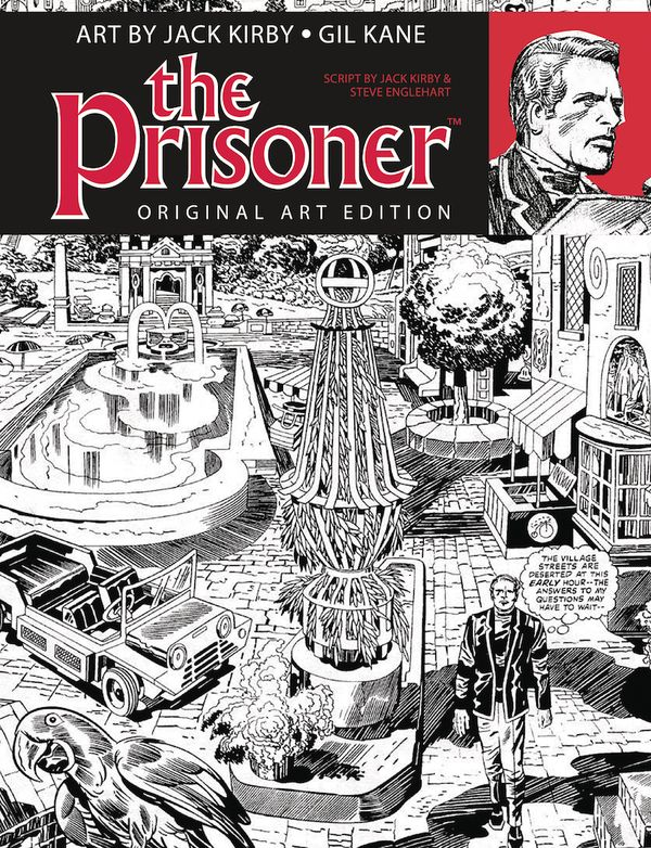 [Cover Art image for The Prisoner: Jack Kirby Gil Kane Art Edition]
