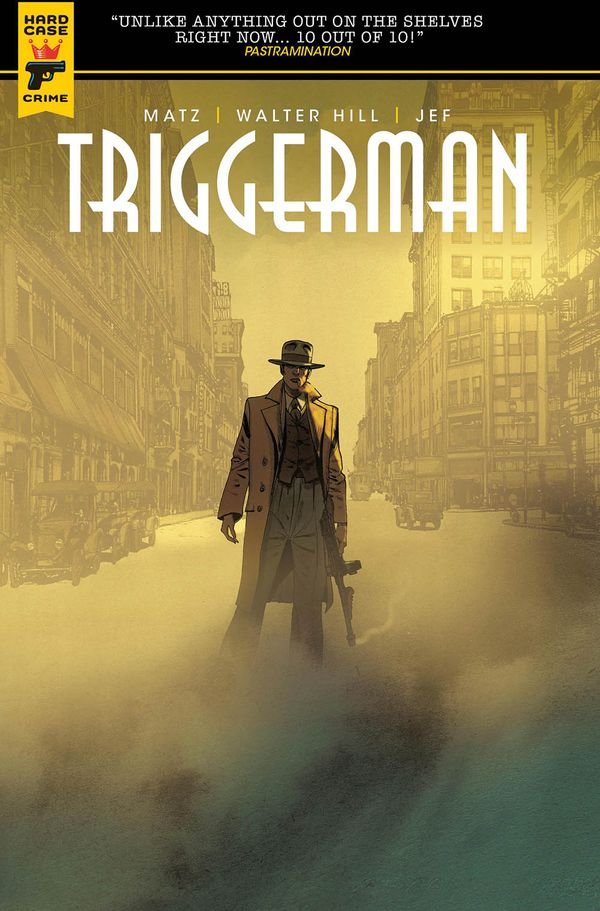[Cover Art image for Triggerman]