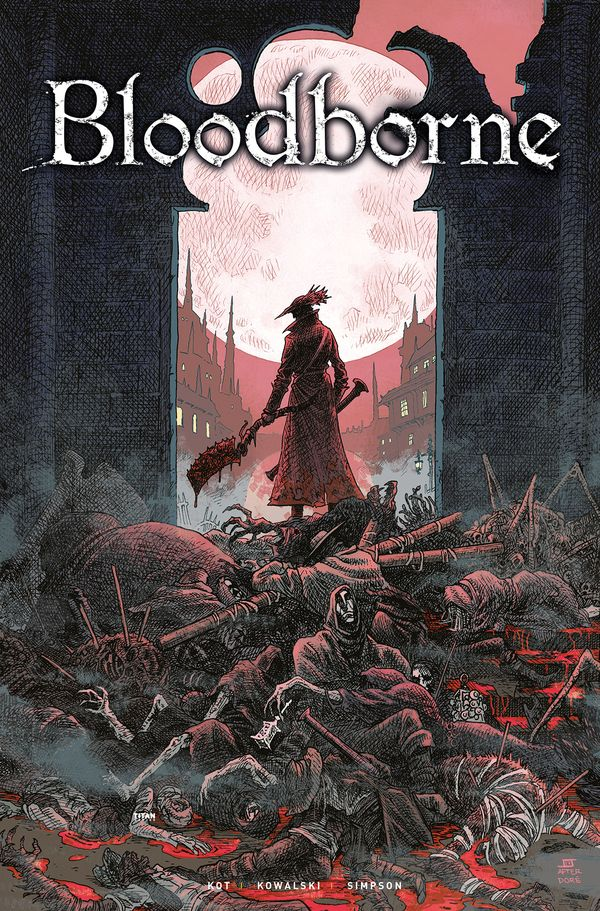 [Cover Art image for Bloodborne Vol. 1: The Death of Sleep]