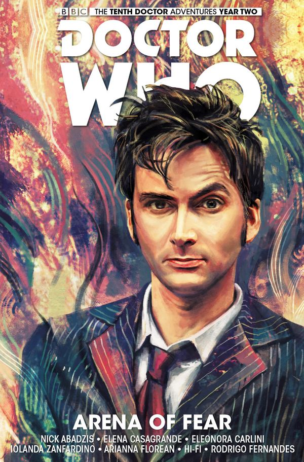 [Cover Art image for Doctor Who: The Tenth Doctor Vol. 5: Arena of Fear]