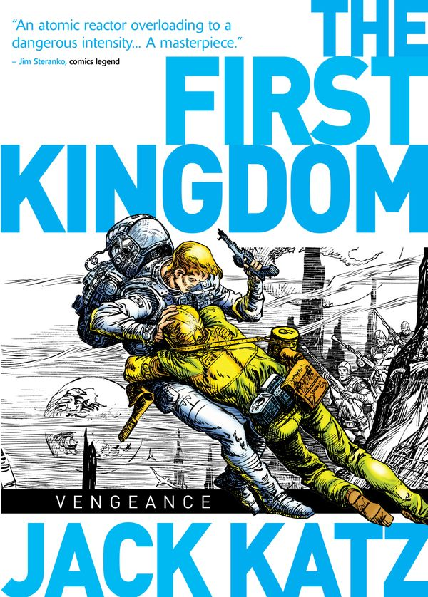 [Cover Art image for The First Kingdom Vol. 3: Vengeance]