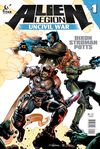 [The cover image for Alien Legion: Uncivil War]