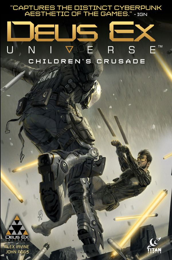 [Cover Art image for Deus Ex: Children's Crusade]