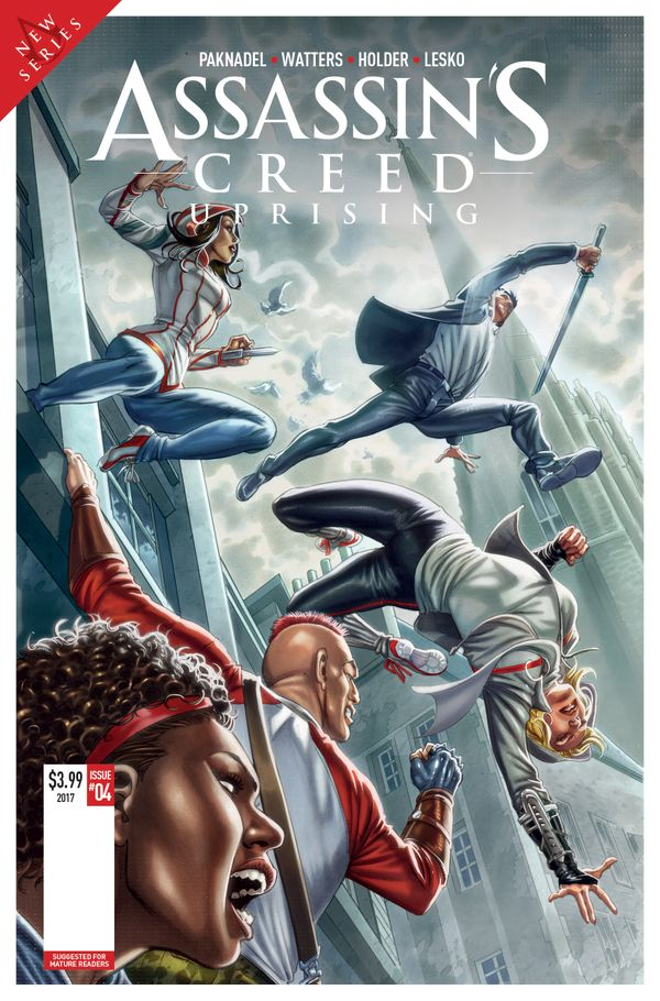 [Cover Art image for Assassin's Creed: Uprising]