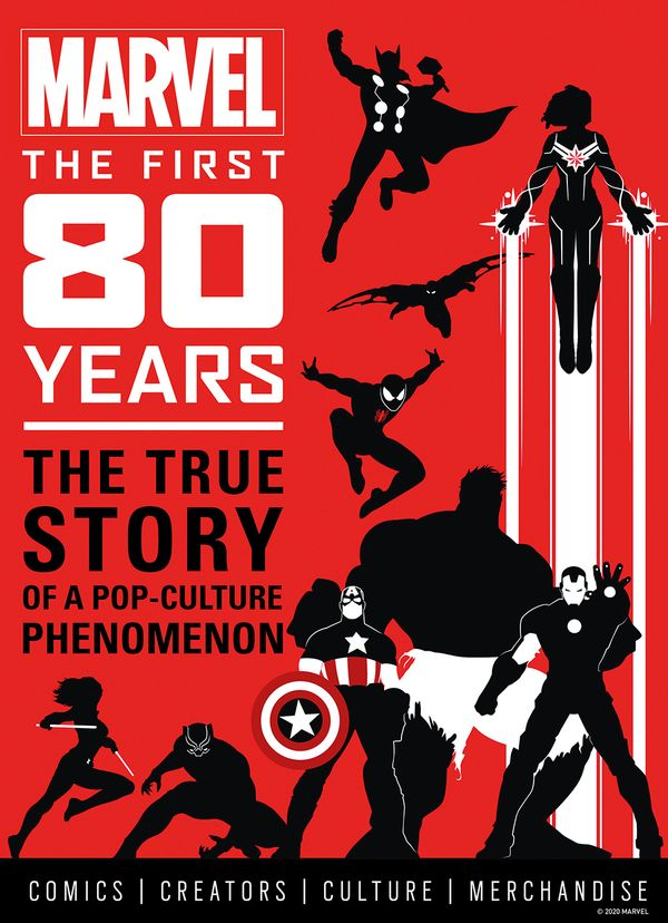 [Cover Art image for Marvel Comics: The First 80 Years]
