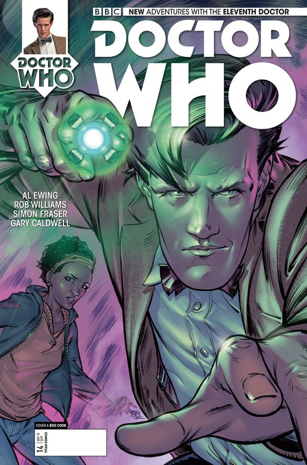 [Cover Art image for Doctor Who : The Eleventh Doctor]