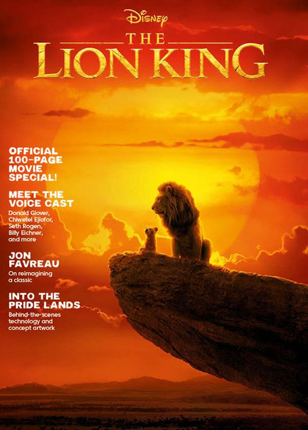 [Cover Art image for Disney's Lion King: The Official Movie Special]