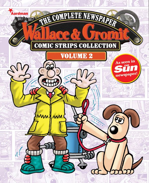 [Cover Art image for Wallace & Gromit: The Complete Newspaper Strips Collection Vol. 2]