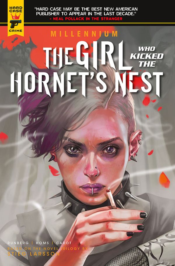 [Cover Art image for Millennium: The Girl Who Kicked the Hornet's Nest]