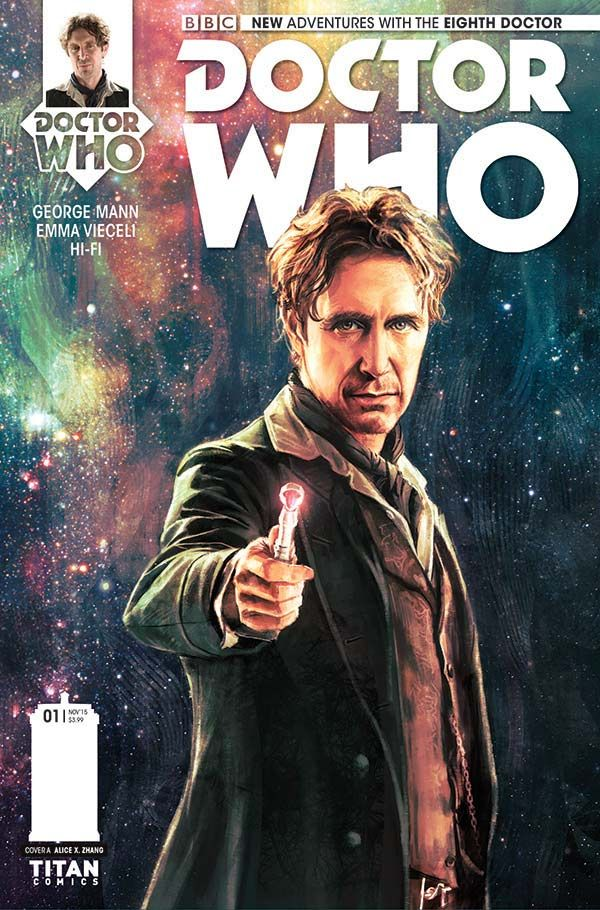 [Cover Art image for Doctor Who: The Eighth Doctor Miniseries]