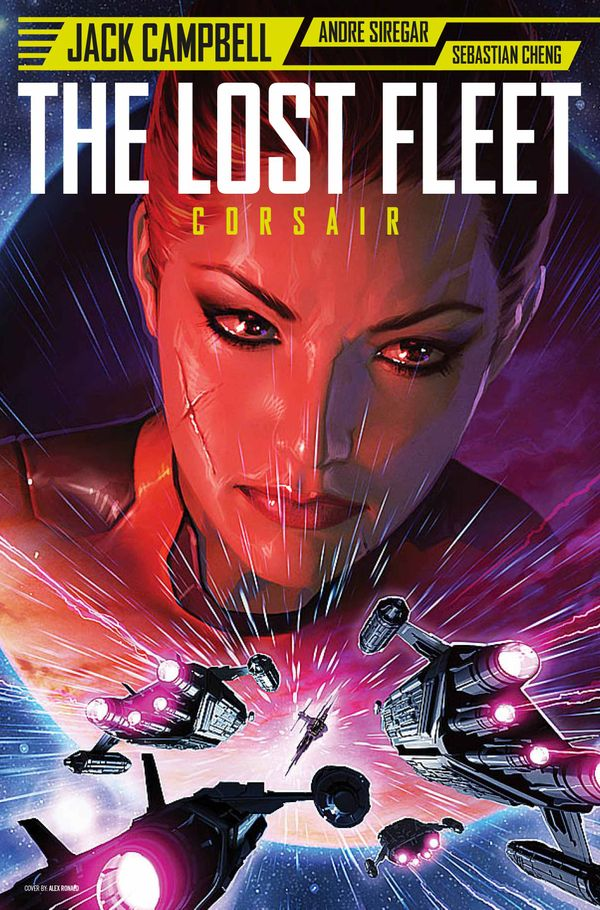 [Cover Art image for Lost Fleet]