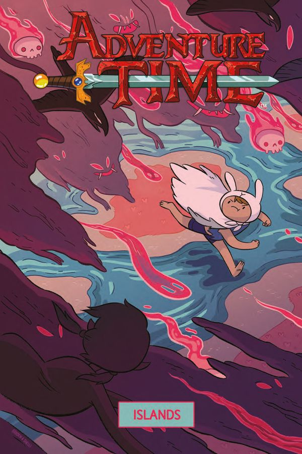 [Cover Art image for Adventure Time: Islands]