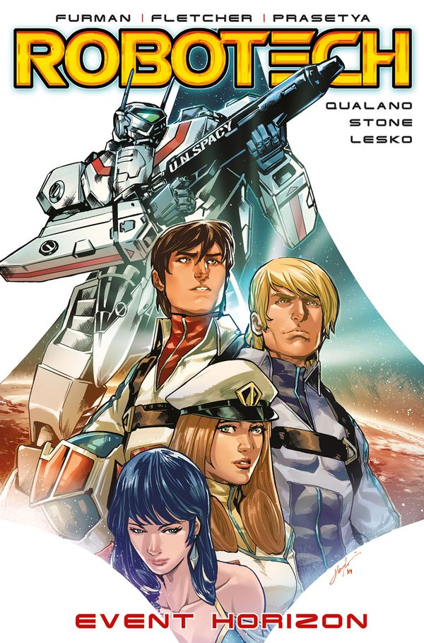 [Cover Art image for Robotech: Event Horizon]