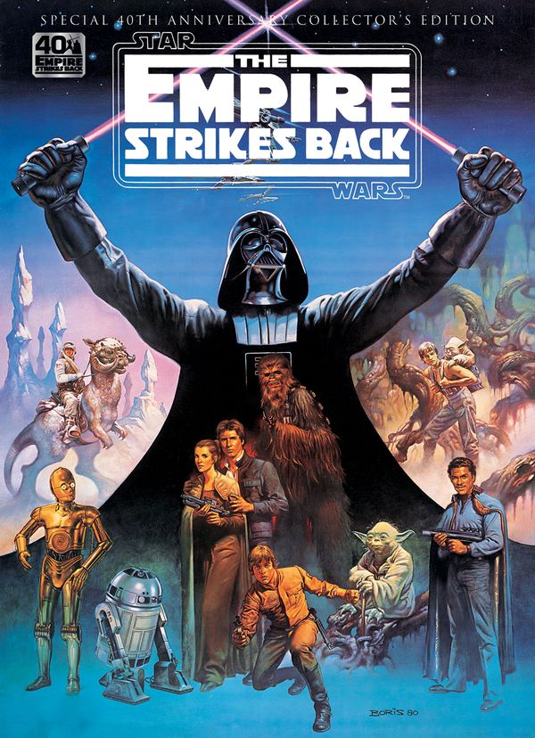 [Cover Art image for Star Wars: The Empire Strikes Back 40th Anniversary Special Book]