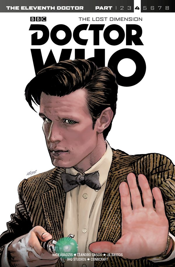 [Cover Art image for Doctor Who: Eleventh Doctor The Lost Dimension, Part 4]