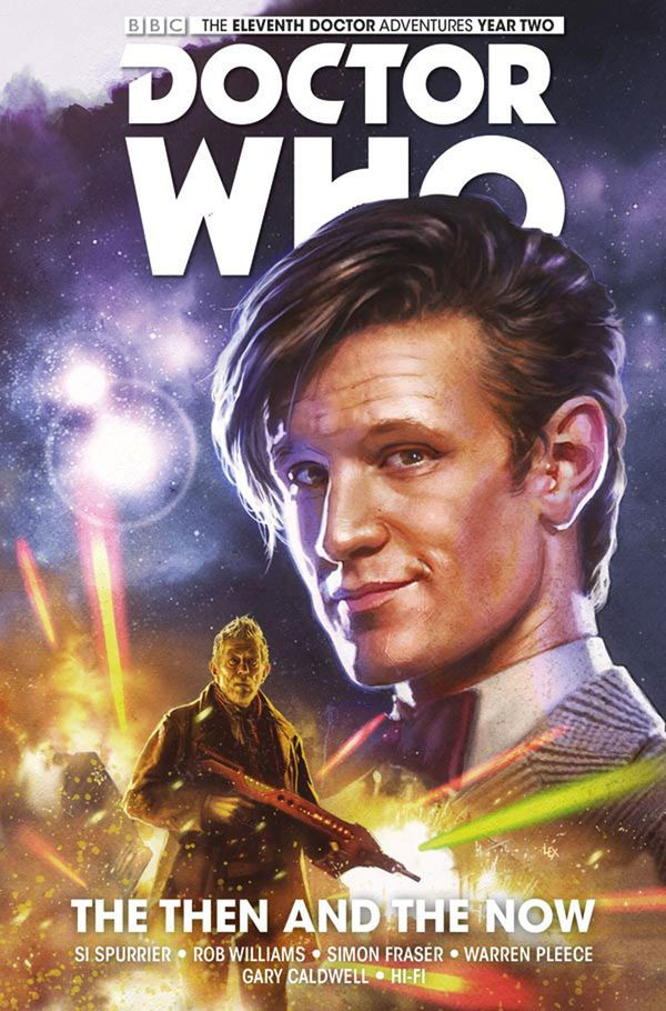 [Cover Art image for Doctor Who: The Eleventh Doctor Vol. 4: The Then and The Now]