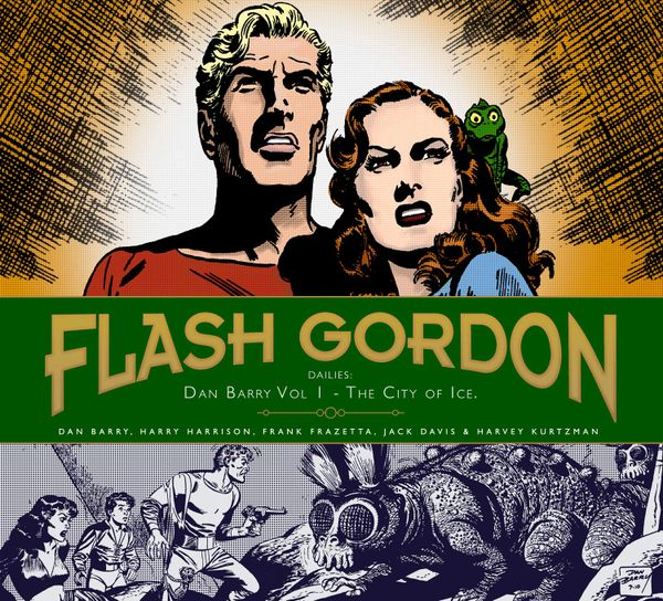 [Cover Art image for Flash Gordon: Dan Barry Vol. 1: The City Of Ice]