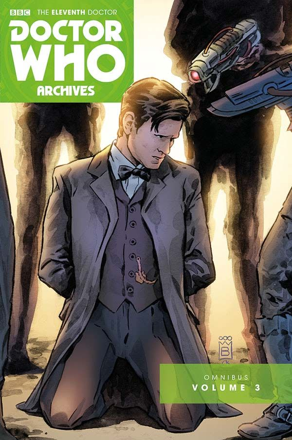 [Cover Art image for Doctor Who Archives: The Eleventh Doctor Vol. 3]