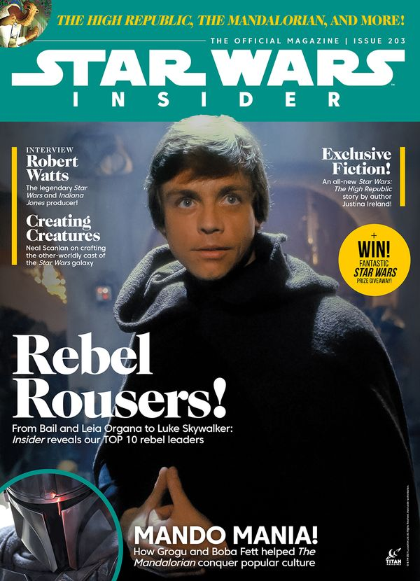 [Cover Art image for Star Wars Insider #203]