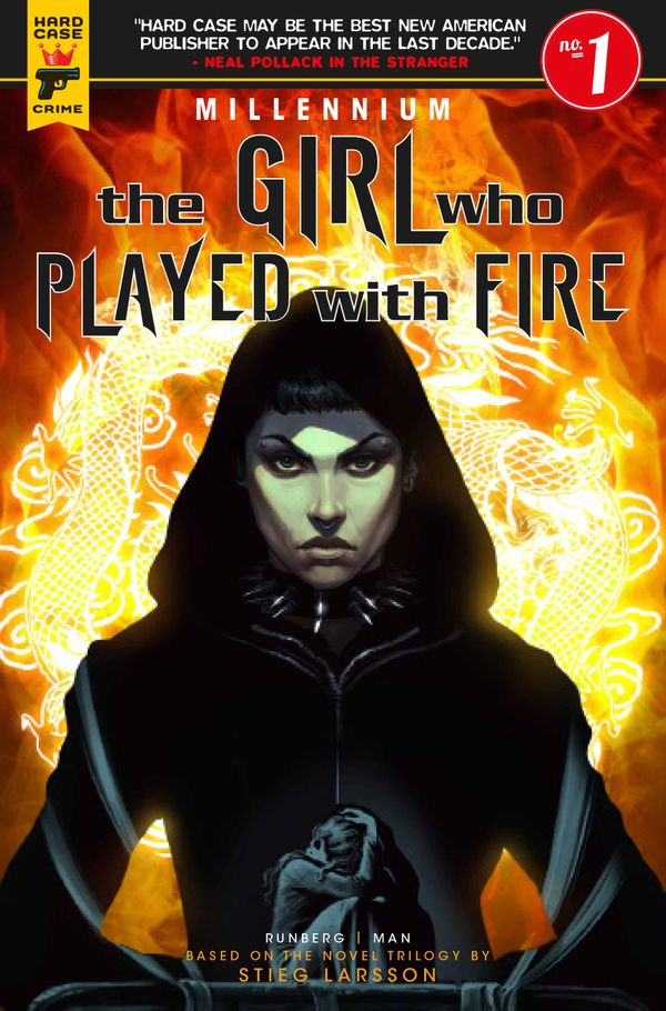 [Cover Art image for The Girl Who Played With Fire - Millennium]