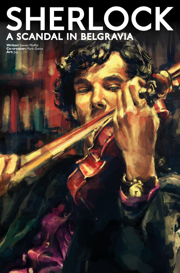 [Cover Art image for Sherlock: A Scandal in Belgravia]