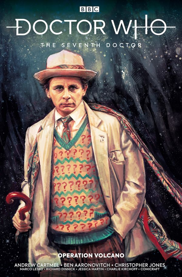 [Cover Art image for Doctor Who: The Seventh Doctor: Operation Volcano]