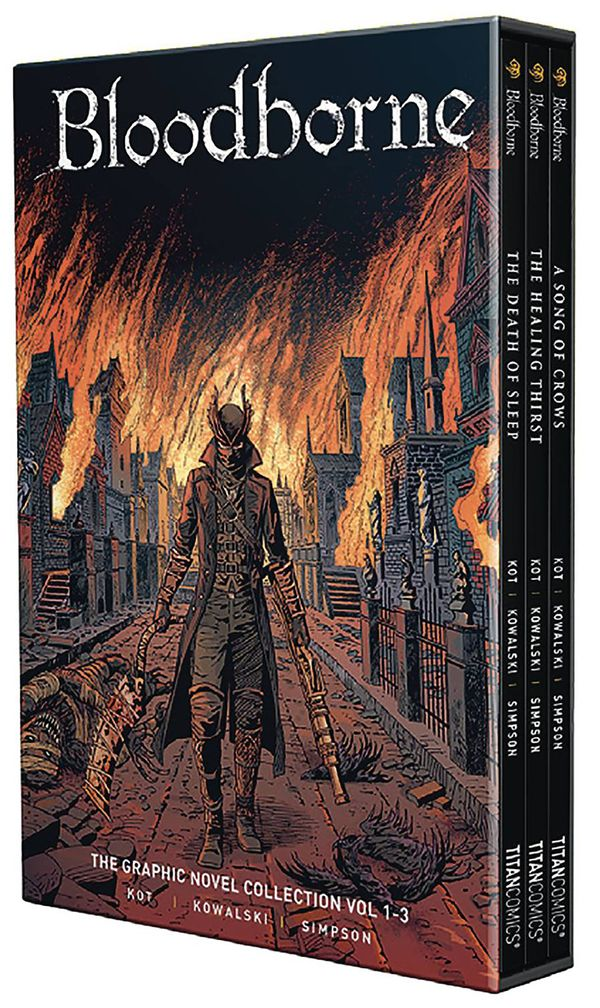 [Cover Art image for Bloodborne: 1-3 Boxed Set]