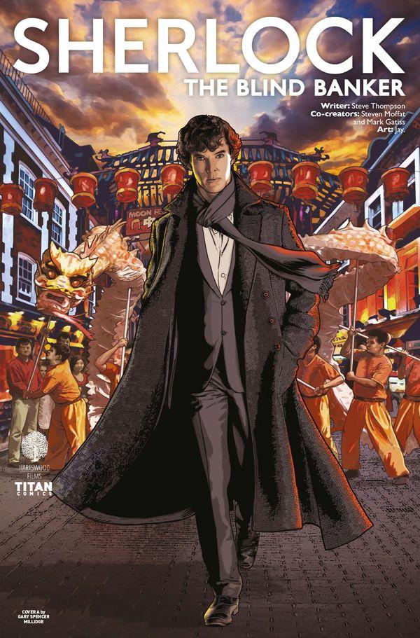 [Cover Art image for Sherlock: The Blind Banker]