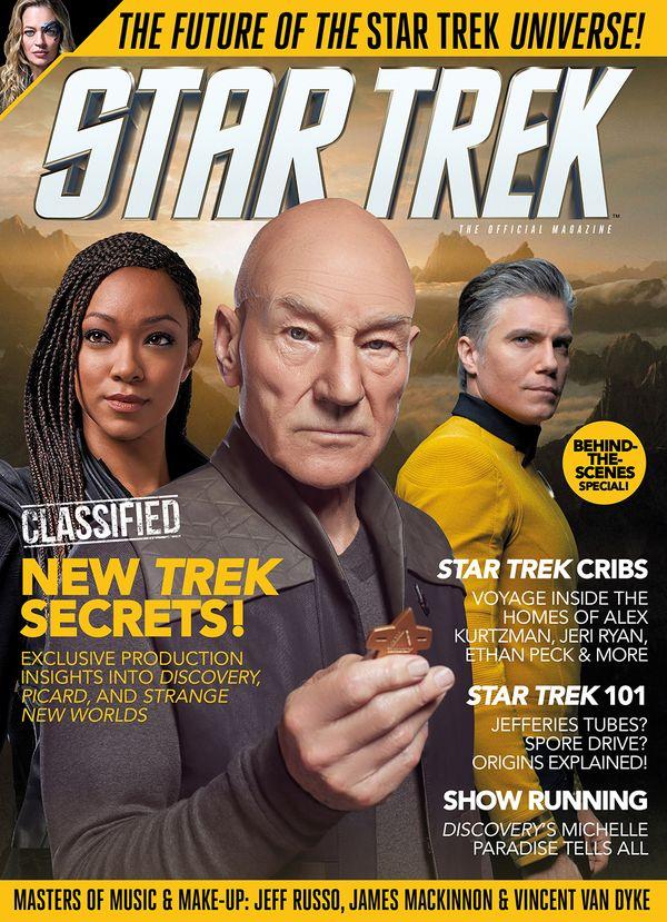 [Cover Art image for Star Trek Magazine #79]