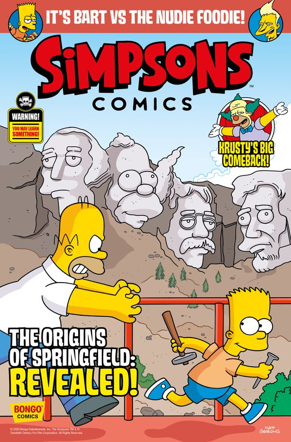 [Cover Art image for Simpsons Comics #34]