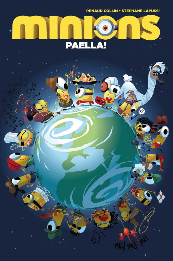 [Cover Art image for Minions: Paella]