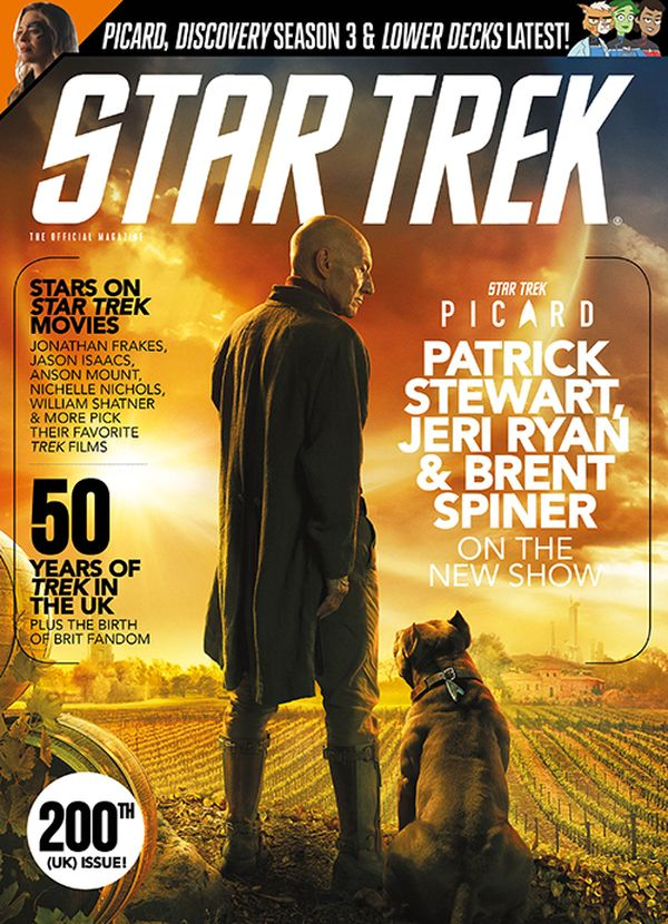 [Cover Art image for Star Trek Magazine #73]