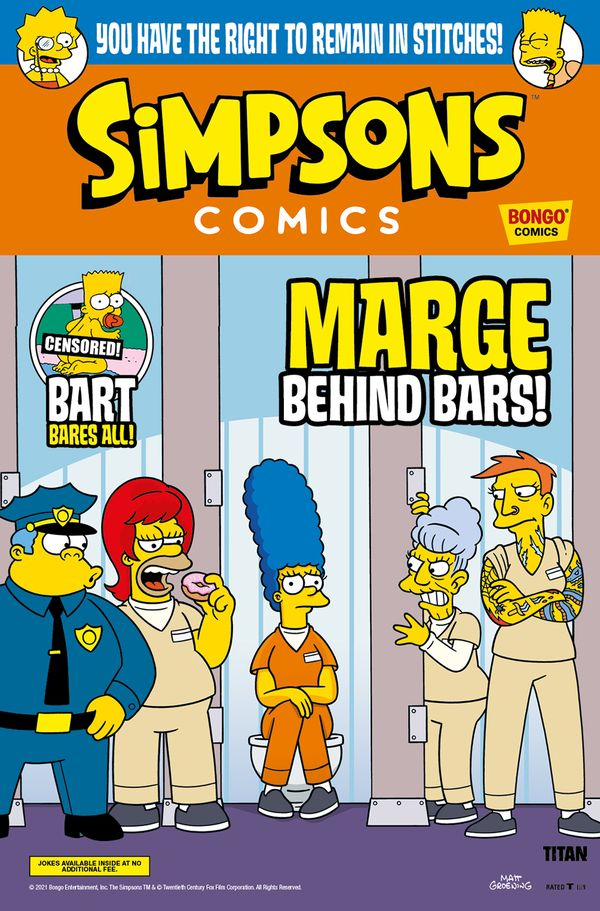 [Cover Art image for Simpsons Comics #39]