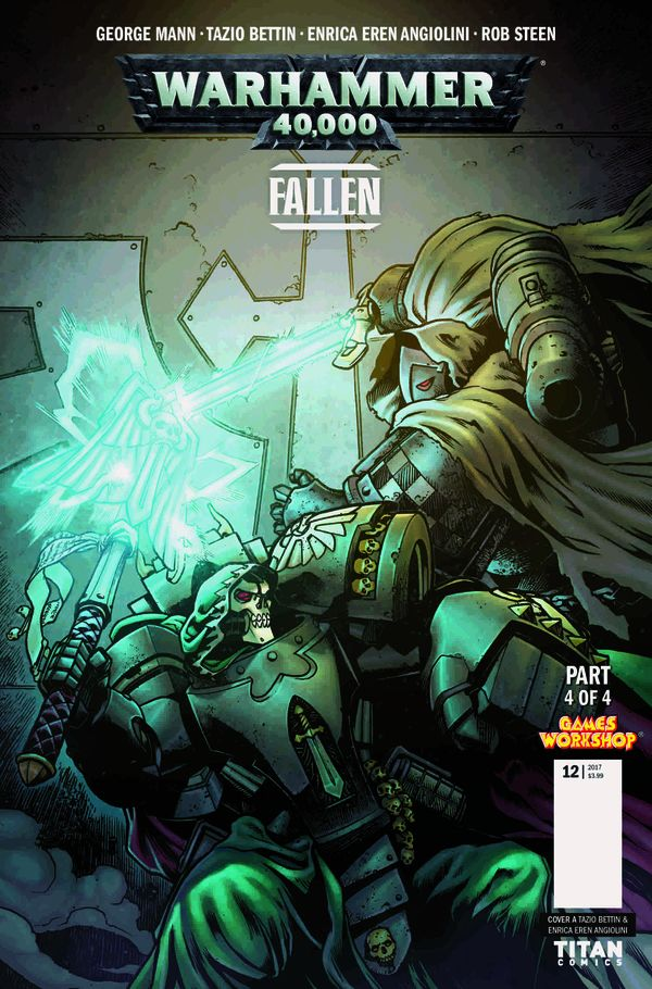 [Cover Art image for Warhammer 40,000: Fallen]