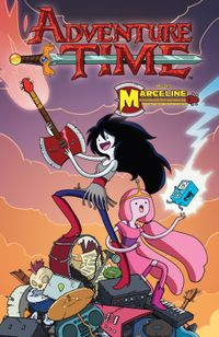 [Image for Adventure Time: Marceline & the Scream Queens]