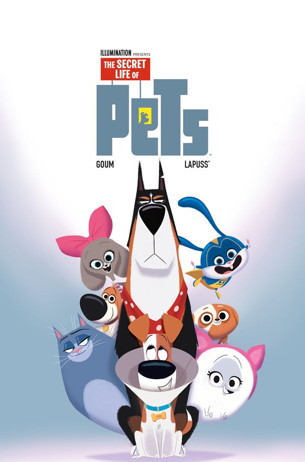 [Cover Art image for The Secret Life of Pets 2]