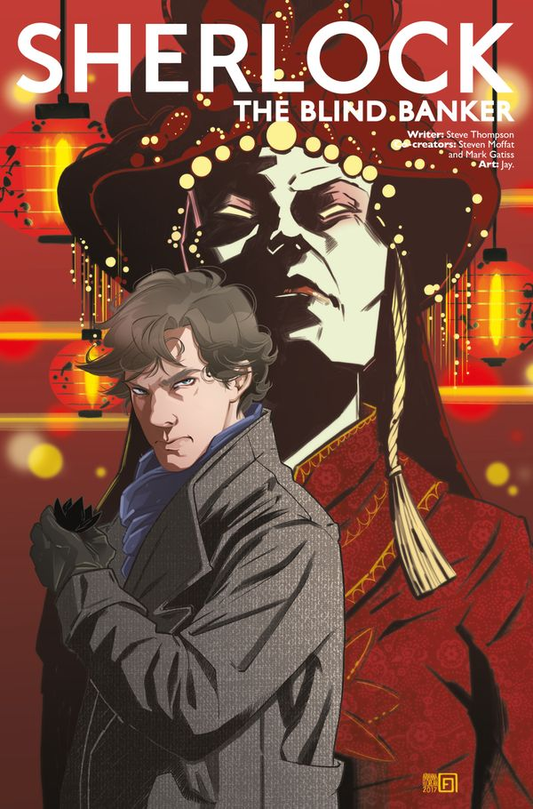 [Cover Art image for Sherlock: The Blind Banker]