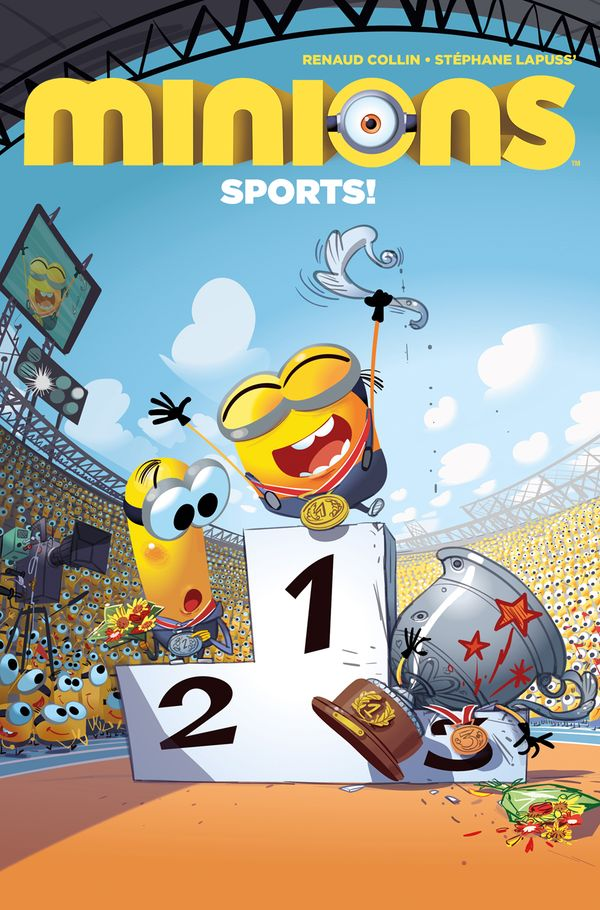 [Cover Art image for Minions Sports]