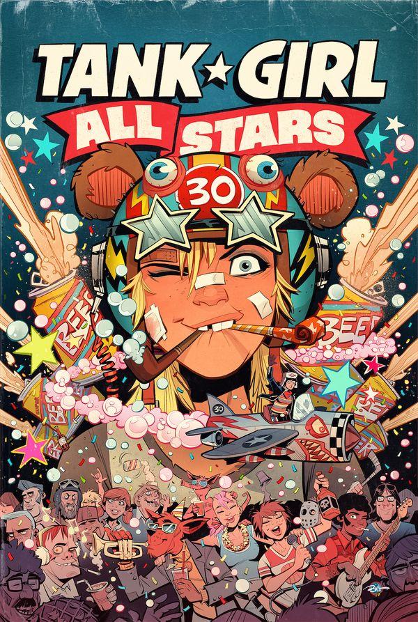 [Cover Art image for Tank Girl: Tank Girl All Stars]