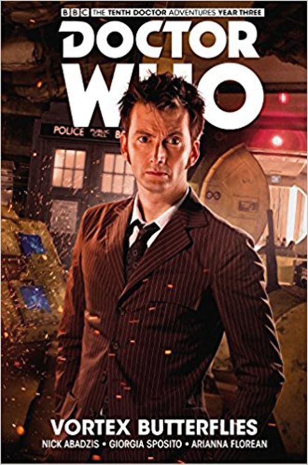 [Cover Art image for Doctor Who: The Tenth Doctor: Facing Fate Vol. 2: Vortex Butterflies]