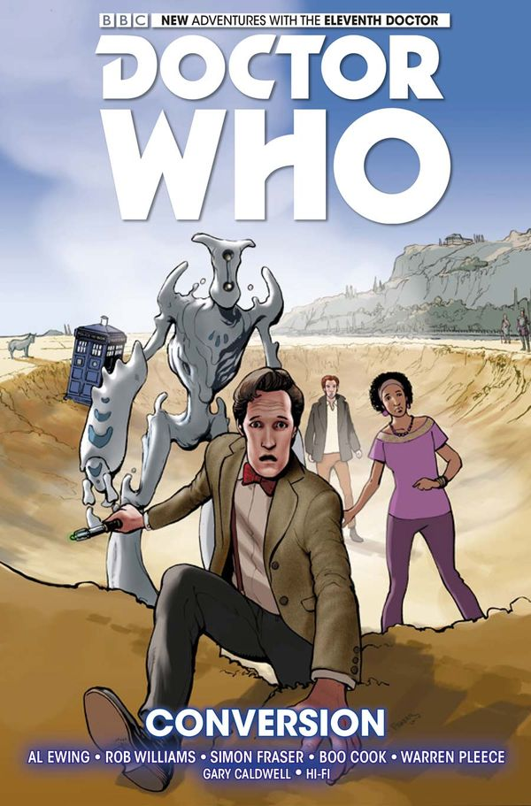 [Cover Art image for Doctor Who: The Eleventh Doctor Vol. 3: Conversion]